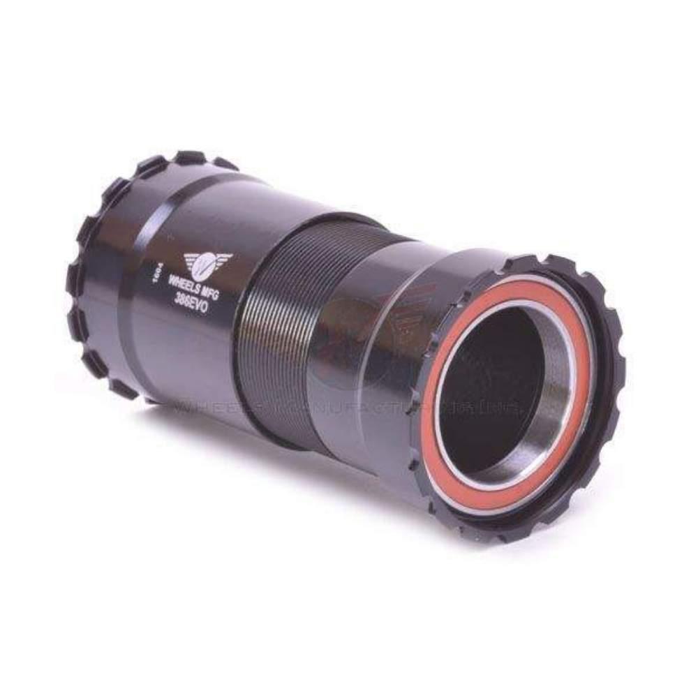 Wheels Manufacturing PressFit 30 to Shimano Bottom Bracket Angular Bearings Blk