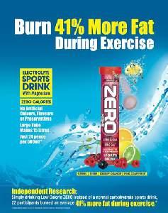 Burn 41% more Fat