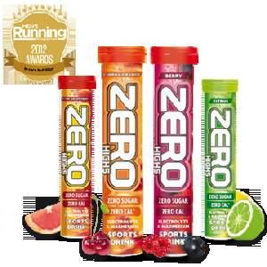 High5 win Nutrition Awards 2012 in Men's Running and Women's Running Magazines