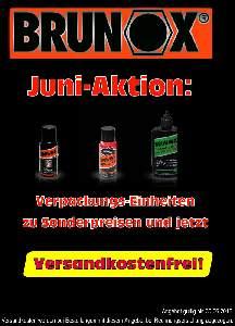 JUNI Aktion: BRUNOX Sonderpreise - VERSANDKOSTENFREI