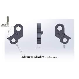 Direct Mount Adapter für Shimano Shadow Schaltwerke
