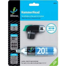 G.Innovations HammerHead Push Button inkl. 20g CO2 Patrone