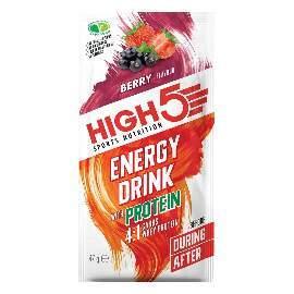 HIGH5 Energy Drink Mit Protein 12x47g Beere (4-1 EnergySource Sommerfrüchte)