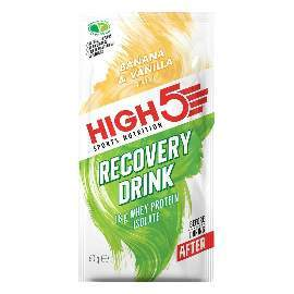 HIGH5 Recovery Drink 9x60g Banane/Vanille (ProteinRecovery)