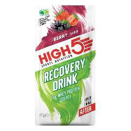 HIGH5 Recovery Drink 9x60g Beere (ProteinRecovery Sommerfrüchte)