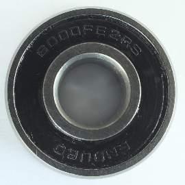 Industrielager 6000 FE 2RS, 10x26x8mm, ABEC-3 mit Ansatz 28mm