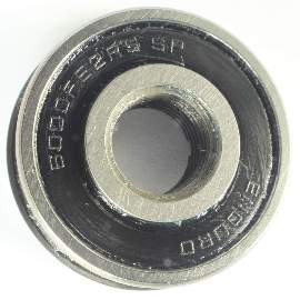 Industrielager 6000 FE SP 2RS, 10x26x8mm, ABEC-3 mit Ansatz 28mm