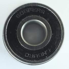 Industrielager 608 FE 2RS, 8x22x7mm, ABEC-3 mit Ansatz 24mm BMC