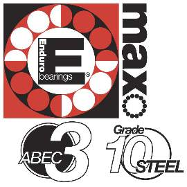 Industrielager 7900 MAX 2RS, 10x22x6mm, 15 Grad, ABEC-3