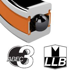 Industrielager DR21531 2RS, 21,5x31x12mm, ABEC-3, 2 Reihig