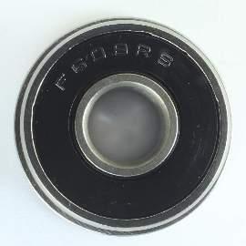 Industrielager F608 2RS, 8x22x7mm, ABEC-3 mit Ansatz 25mm