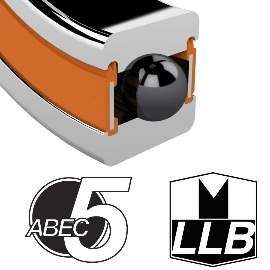Industrielager MR15267 2RS, 15x26x7mm, 15 Grad, ABEC-5
