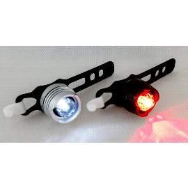 LED Leuchtenset Vorne + Hinten mit 3 Funktionen