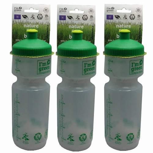 BIO BOTTLE Big Mouth 750mlDie BIO-BOTTLE BigMouth Sportflasche ist die Alternative zu den Mineralölbasierten Kunststoff Sportflaschen. Die neuesten biochemischen Techniken wandelt den nachwachsenden Rohstoff zu einem außergewöhnlich hohen Qualitätskunststoff, der alle Lebensmittelvorgaben erfüllt und zur Produktion der BIO-BOTTLE verwendet wird. Angenehm weiches Mundstück, weiches LDPE Material.  Volumen: 750ml Durchmesser: 74mm Höhe: 230mm Öffnung: 58mmEU-Bottle ist einer der führenden Hersteller in Europa im Bereich Werbe und Sport Trinkflaschen. Mit mehr als 20 Jahren Erfahrung gewährleistet EU-Bottle höchste Qualität in der Herstellung von Trinkflaschen und Druck.  Jede Flasche, welche wir herstellen, ist 100% BPA frei und alle Farbstoffe Lebensmittelecht. Unser Engagement für die Gesundheit unserer Kunden erfordert, dass alle unsere Trinkflaschen in Europa hergestellt und gedruckt werden, wo wir persönlich die strengste Qualitätskontrollen, sowohl über die Rohstoffe als auch Produktion durchführen.  Lebensmittelsicherheit Zertifizierungen  EU-Bottle hält alle in der EU erforderlich Zertifizierungen zur Lebensmittelsicherheit, welche für die Überprüfung auf Kundenanfrage zur Verfügung stehen. Bio-Abbaubarkeit  EU-Flaschen verwendet nur biologisch abbaubaren Kunststoff-Rohstoffe höchster Qualität in allen Flaschenformverfahren.  Ab 100 Stk auch mit individuellem Aufdruck erhältnlich !