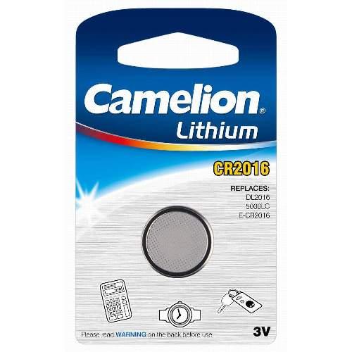 CAMELION CR 2016 Lithium Knopfzellen, 10 Stk. Packung