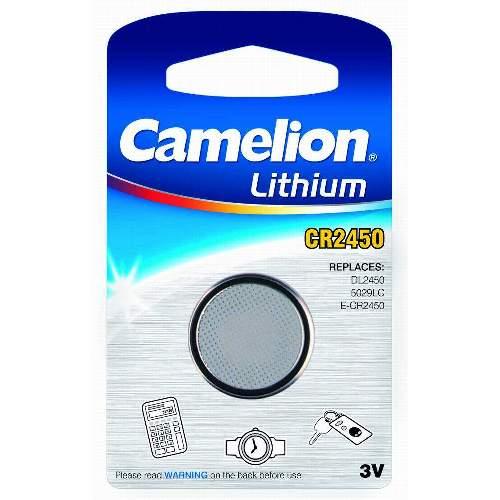 CAMELION CR 2450 Lithium Knopfzellen, 10 Stk. Packung