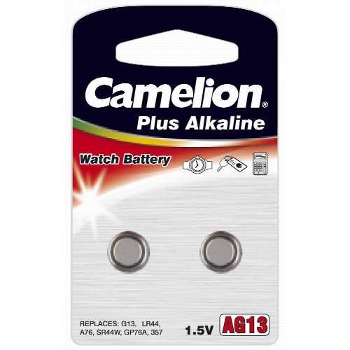 CAMELION LR 44 Alkaline Knopfzellen, 20x 2 Stk. Blister
