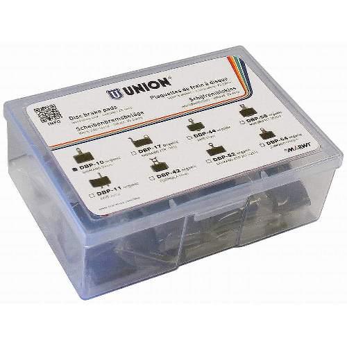 Disc Bremsbelag DBP-10 für SHIMANO Deore M515/M475/C501/C601 mechanical/M525 hydraulic, 25 Stk Packung