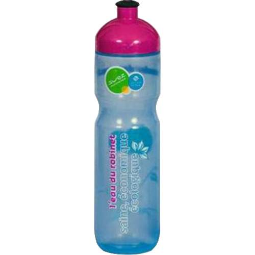EU Bottle Classic 400mlDie Classic Serie bietet ein ausgezeichnetes Preis/Leistungsverhältnis bei  gleichzeitig hoher Materialqualität. Angenehm weiches Mundstück, 41mm großer Drehverschluß, weiches LDPE Material.  Classic 400: Schlanke Trinkflasche, optimal für Kinderhände Volumen: 400ml Durchmesser: 58mm Höhe: 205mm Öffnung: 41mm Achtung: Nicht für Fahrradflaschenhalter geeignet!   EU-Bottle ist einer der führenden Hersteller in Europa im Bereich Werbe und Sport Trinkflaschen. Mit mehr als 20 Jahren Erfahrung gewährleistet EU-Bottle höchste Qualität in der Herstellung von Trinkflaschen und Druck.  Jede Flasche, welche wir herstellen, ist 100% BPA frei und alle Farbstoffe Lebensmittelecht. Unser Engagement für die Gesundheit unserer Kunden erfordert, dass alle unsere Trinkflaschen in Europa hergestellt und gedruckt werden, wo wir persönlich die strengste Qualitätskontrollen, sowohl über die Rohstoffe als auch Produktion durchführen.  Lebensmittelsicherheit Zertifizierungen  EU-Bottle hält alle in der EU erforderlich Zertifizierungen zur Lebensmittelsicherheit, welche für die Überprüfung auf Kundenanfrage zur Verfügung stehen. Bio-Abbaubarkeit  EU-Flaschen verwendet nur biologisch abbaubaren Kunststoff-Rohstoffe höchster Qualität in allen Flaschenformverfahren.   Wählen Sie: • ab 100 Stück individueller Druck. • 13 verschiedene Flaschen Modelle. • Flasche, Deckel Mundstück wählbar aus 33 Farben. • Ab 2000 Stk. Flaschenfarben frei nach Pantone möglich. • Lieferzeit nach Druckfreigabe ca. 2 bis 4 Wochen. • Aufteilung der Stückzahl auf unterschiedliche Flaschengrößen möglich.               Händlerpreisliste Download  Infofolder Download  Kontaktieren Sie uns für Ihr persönliches Angebot.