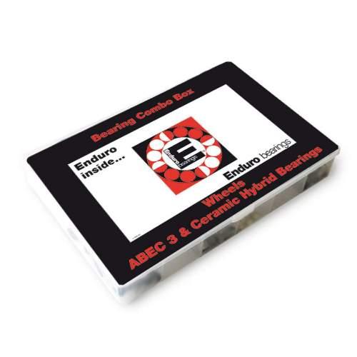Enduro Bearings Wheels BoxZur Grundbestückung Ihrer Werkstatt zum Vorteilspreis.  8x 1976 | 608 LLB | 8x22x7mm 4x 1972 | 6000 LLB | | 10x26x8mm 6x 1973 | 6001 LLB | 12x28x8mm 8x 1982 | 6802 LLB | 15x24x5mm 2x 1983 | 6803 LLB | 17x26x5mm 7x 1985 | 6805 LLB | 25x37x7mm 4x 1989 | 6901 LLB | 12x24x6mm 8x 1990 | 6902 LLB | 15x28x7mm 2x 1991 | 6903 LLB | 17x30x7mm 4x  | CH 608 LLB | 8x22x7mm 2x  | CH 6000 LLB | 10x26x8mm 4x  | CH 6001 LLB | 12x28x8mm 2x  | CH 6802 LLB | 15x24x5mm 2x  | CH 6805 LLB | 25x37x7mm 2x  | CH 6901 LLB | 12x24x6mm 4x  | CH 6902 LLB | 15x28x7mm 1x 2342 | Tool - V-Type Bearing Puller