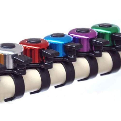 Fahrradglocke, farblich sortiert