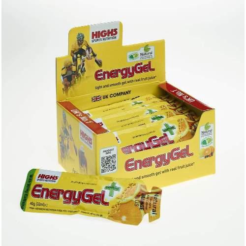 HIGH5 EnergyGel+Koffein 20x38g Stk. Pack Orange