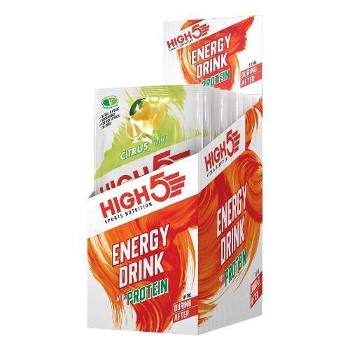 HIGH5 Energy Drink Mit Protein 12x47g Zitrone (4-1 EnergySource)