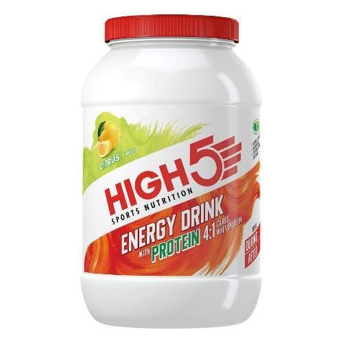 HIGH5 Energy Drink Mit Protein 1600g Zitrone (4-1 EnergySource)