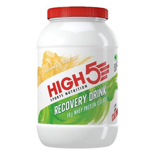 HIGH5 Recovery Drink 1600g Banane/Vanille (ProteinRecovery)