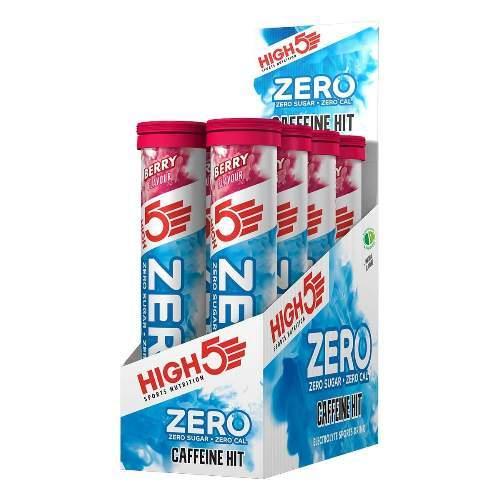 HIGH5 ZERO Koffein Hit 8x20 Stk. Pack Beere (Zero X´treme+Koffein)