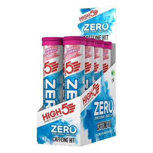 HIGH5 ZERO Koffein Hit 8x20 Stk. Pack Pink Grapefruit (Zero X´treme+Koffein)