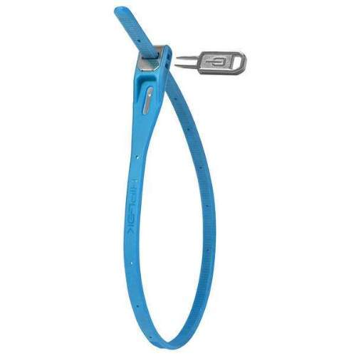 Hiplok Z-Lok Kabelbinder-Schloss mit Schlüssel, 40cm, blau