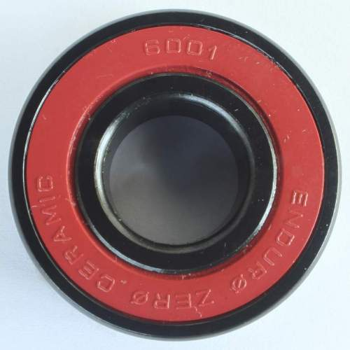 Industrielager 6001 2RS, 12x28x8mm, ZERO CERAMIC