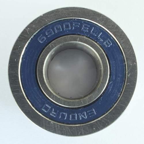 Industrielager 6900 FE 2RS, 10x22x6mm, ABEC-3 mit Ansatz 24mm Trek