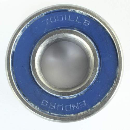 Industrielager 7001 MAX 2RS, 12x28x8mm, 15 Grad, ABEC-3