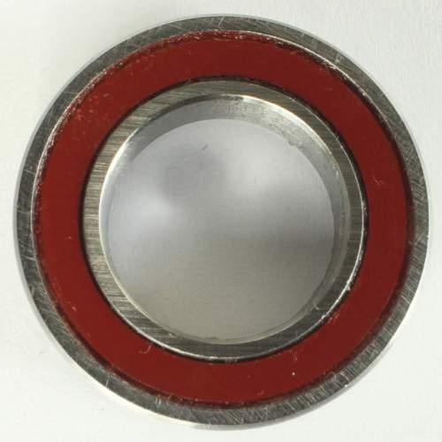 Industrielager 7801 2RS, 12x21x5mm, 15 Grad, ABEC-5