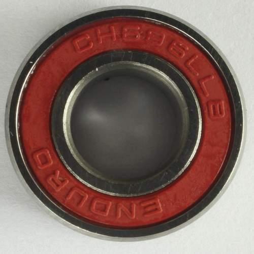 Industrielager MR18307 2RS, 18x30x7mm, CERAMIC HYBRID ABEC-5
