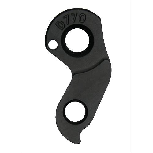 Dropout #1131• CNC manufactured from 6061 alloy for better shifting performance and higher durability • Black anodized finish for better looking and a longer lasting surface quality Holes: 2-Hole Position: Outside Mount: 4mm - M12x1.75 Distance: 11 mm We suggest to order 2 Dropouts, so you have next time one in spare and have no waiting time.