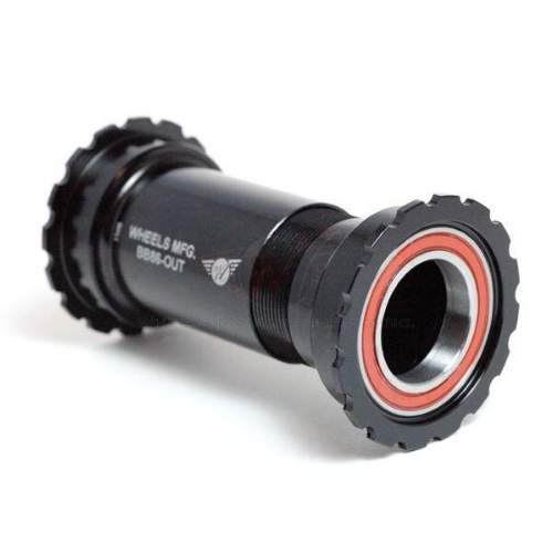 Tretlager BB86 / BB92 zu SRAM / GXP, Angular Contact, Black