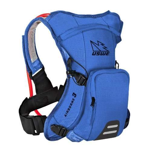 USWE AIRBORNE™ 3 Junior Race Blue Rucksack, 3L