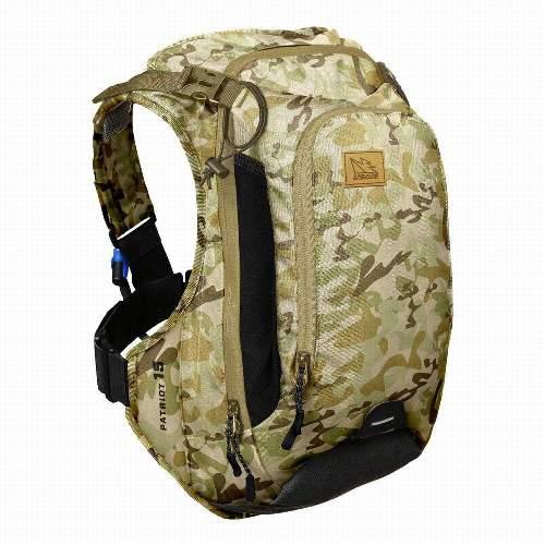USWE PATRIOT™ 15CB Camo, SAS-TEC PROTECTOR Rucksack, 15L